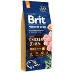 TOP 3. - Brit Premium by Nature Adult M 15 kg