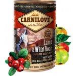 TOP 2. - Carnilove Dog Wild Meat Lamb & Wild Boar 400 g