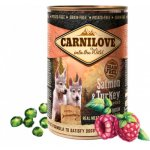 TOP 5. - Carnilove Dog Wild Meat Salmon & Turkey for Puppies 400 g