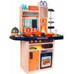 TOP 1. - Doris dětská kuchyňka XXL se zvuky a tekoucí vodou modrá</p>