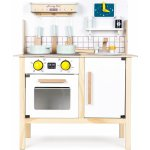 TOP 3. - EcoToys Dřevěná dětská kuchyně se zvuky
