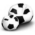 TOP 4. - FITMANIA Fotbalový míč XXL+ podnožník Vzor: 01 bílo-černá</p>