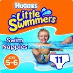 TOP 2. - Huggies little swimmers medium 11-15 kg 11 ks