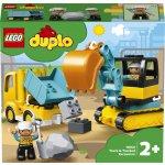 TOP 2. - LEGO DUPLO 10931 Náklaďák a pásový bagr