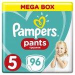 TOP 2. - Pampers Active Pants 5 Junior Mega Box 12-17 kg 96 ks