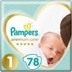 TOP 4. - Pampers Premium Care 1 NEWBORN 2-5 kg 78 ks