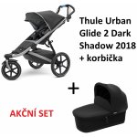 TOP 3. - Thule Urban Glide 2 Dark Shadow 2020 + korba