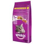 TOP 3. - Whiskas granule s kuřecím pro dospělé kočky 14kg