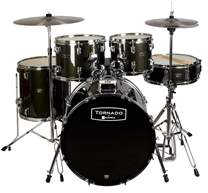 TORNADO Junior Set Black Sparkle