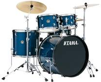 TAMA Rhythm Mate Rock Set Hairline Blue