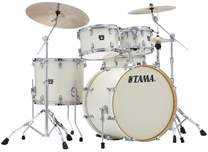 TAMA Superstar Classic Maple Vintage White Sparkle Rock Set