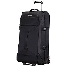 American Tourister Road Quest Duffle/WH L Solid Black