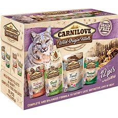 Carnilove CAT pouch MULTIPACK (12 × 85 g)