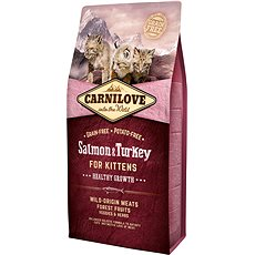 Carnilove salmon & turkey for kittens – healthy growth 6kg