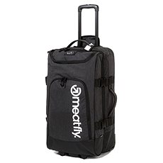 Meatfly Contin 3 Trolley Bag, Heather Charcoal, Black