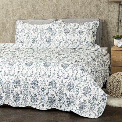 TOP 2. - 4Home přehoz na postel Blue Patrones 140 x 220 cm, 50 x 70 cm