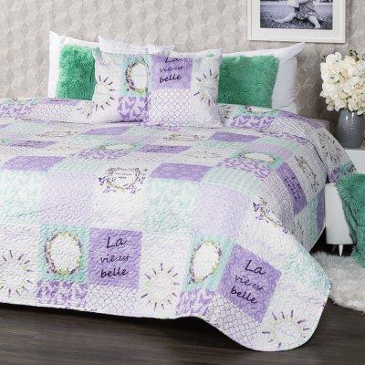 TOP 5. - 4Home prehoz na postel Lavender 220 x 240 cm, 40 x 40 cm