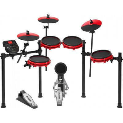 TOP 4. - Alesis Nitro Mesh Special Edition RED