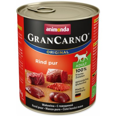 TOP 5. - Animonda Gran Carno Adult hovězí 800 g