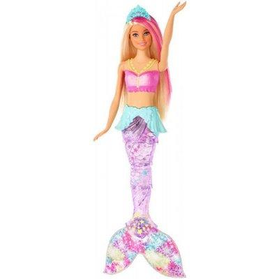 TOP 2. - Barbie Svítící mořská panna s pohyblivým ocasem běloška