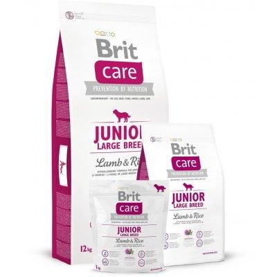 TOP 5. - Brit Care Junior Large Breed Lamb & Rice 12 kg
