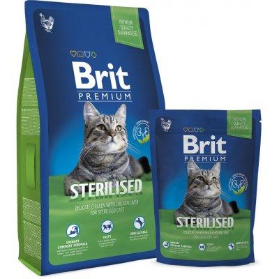 TOP 5. - Brit cat Premium Sterilised 8 kg