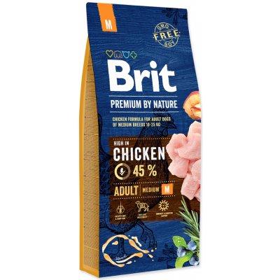 TOP 5. - Brit Premium by Nature Adult M 15 kg