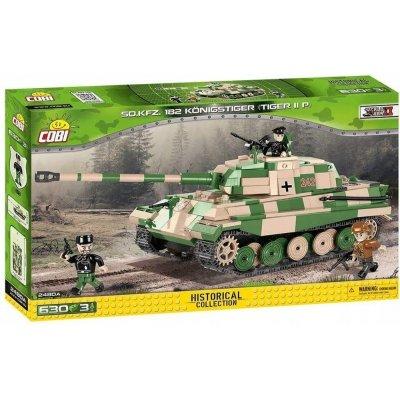 TOP 2. - COBI 2480A World War II Tank SD.KFZ. 182 KÖNIGSTIGER (Tiger II P)
