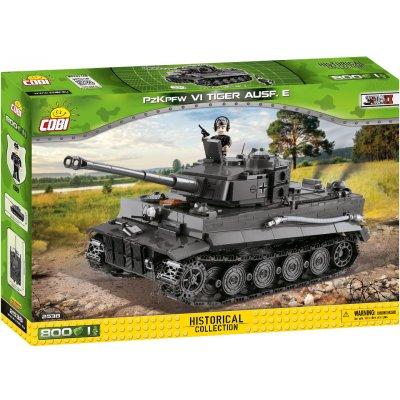 TOP 3. - COBI 2538 World War II Německý těžký tank PzKpfW Panzer VI Tiger ausf. E