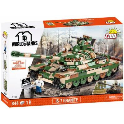 TOP 5. - COBI 3040 World of Tanks Ruský těžký tank IS-7 Granite