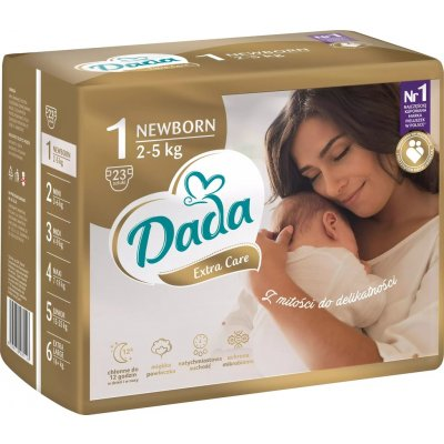 TOP 4. - Dada Extra Care 1 Newborn 2-5 kg 23 ks