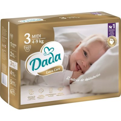 TOP 3. - Dada Extra Care 3 MIDI 4-9 kg 40 ks