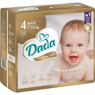 TOP 1. - Dada Extra Care 4 MAXI 7-18 kg 33 ks