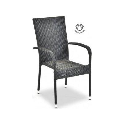 TOP 5. - Dek Ratanová židle PARIS antracit