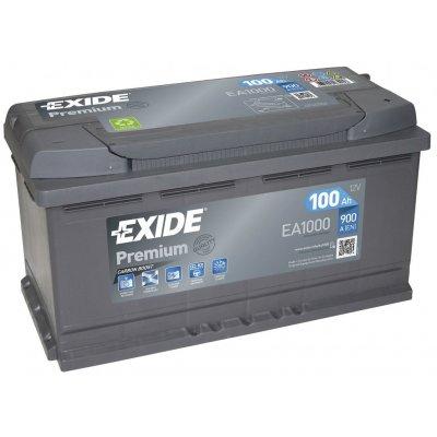 TOP 3. - Exide Premium 12V 100Ah 900A EA1000