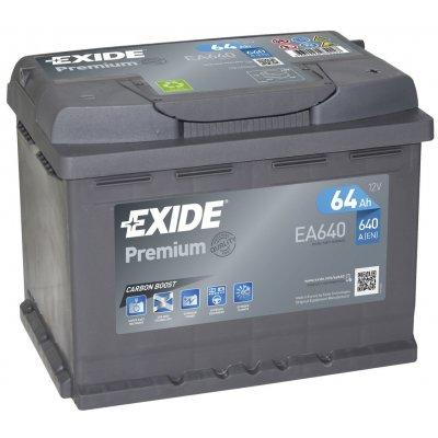 TOP 4. - Exide Premium 12V 64Ah 640A EA640