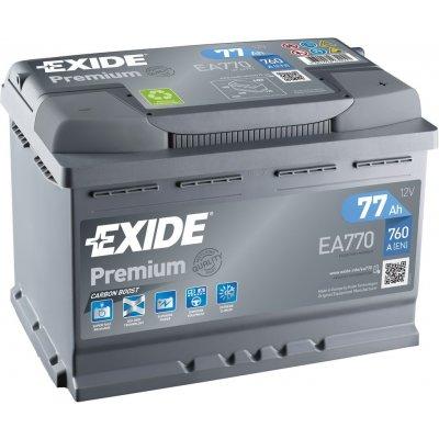 TOP 1. - Exide Premium 12V 77Ah 760A EA770