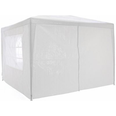 TOP 3. - Garthen Zahradní párty stan klasický 3x3 + boční stěny bílá