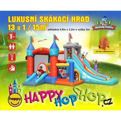 TOP 4. - Happy Hop Luxusní skákací hrad 13 v 1