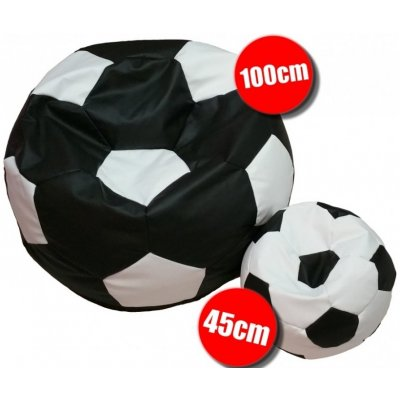 TOP 1. - Interier-Stejskal fotbal XXL + fotbal L 01 bílá 10 černá