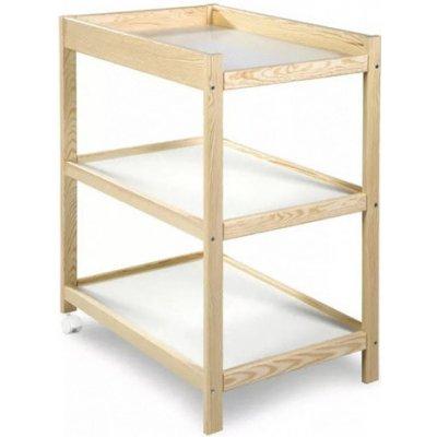 TOP 2. - Klupš přebalovací dřevěný pult x 54 Emma přírodní 92 x 75