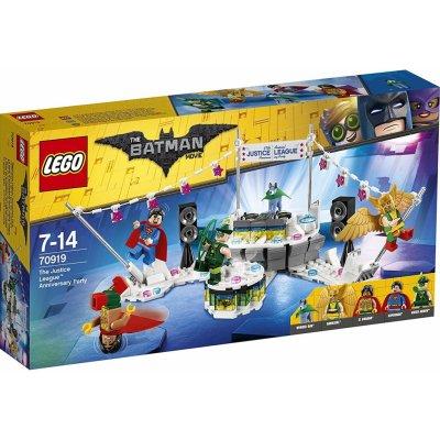 TOP 5. - LEGO Batman 70919 Výroční oslava Ligy spravedlivých