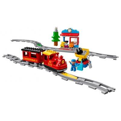 TOP 2. - LEGO DUPLO 10874 Parní vláček