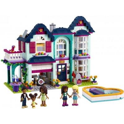 TOP 4. - LEGO Friends 41449 Andrea a její rodinný dům