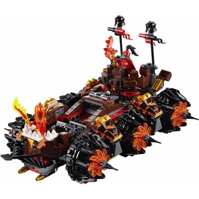 TOP 4. - LEGO Nexo Knights 70321 Obléhací stroj zkázy generála Magmara!