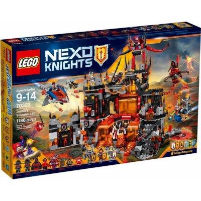 TOP 2. - LEGO Nexo Knights 70323 Jestrovo sopečné doupě
