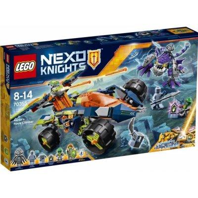 TOP 5. - LEGO Nexo Knights 70355 Aaronův vůz Horolezec