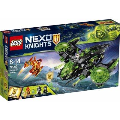 TOP 3. - LEGO Nexo Knights 72003 Běsnící bombardér