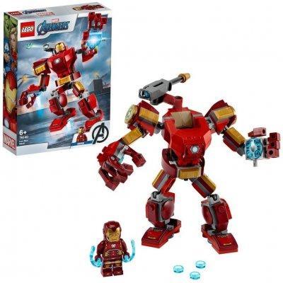 TOP 2. - LEGO Super Heroes 76140 Iron Manův robot