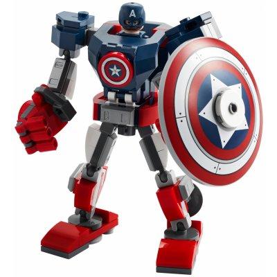 TOP 1. - Lego Super Heroes 76168 Captain America v obrněném robotu